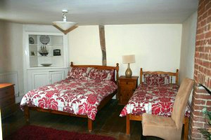 Inn Room at Red Lion Steeple Bumpstead